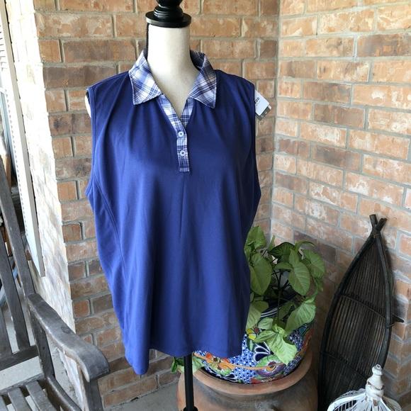Izod Tops - NWT sleeveless golf shirt